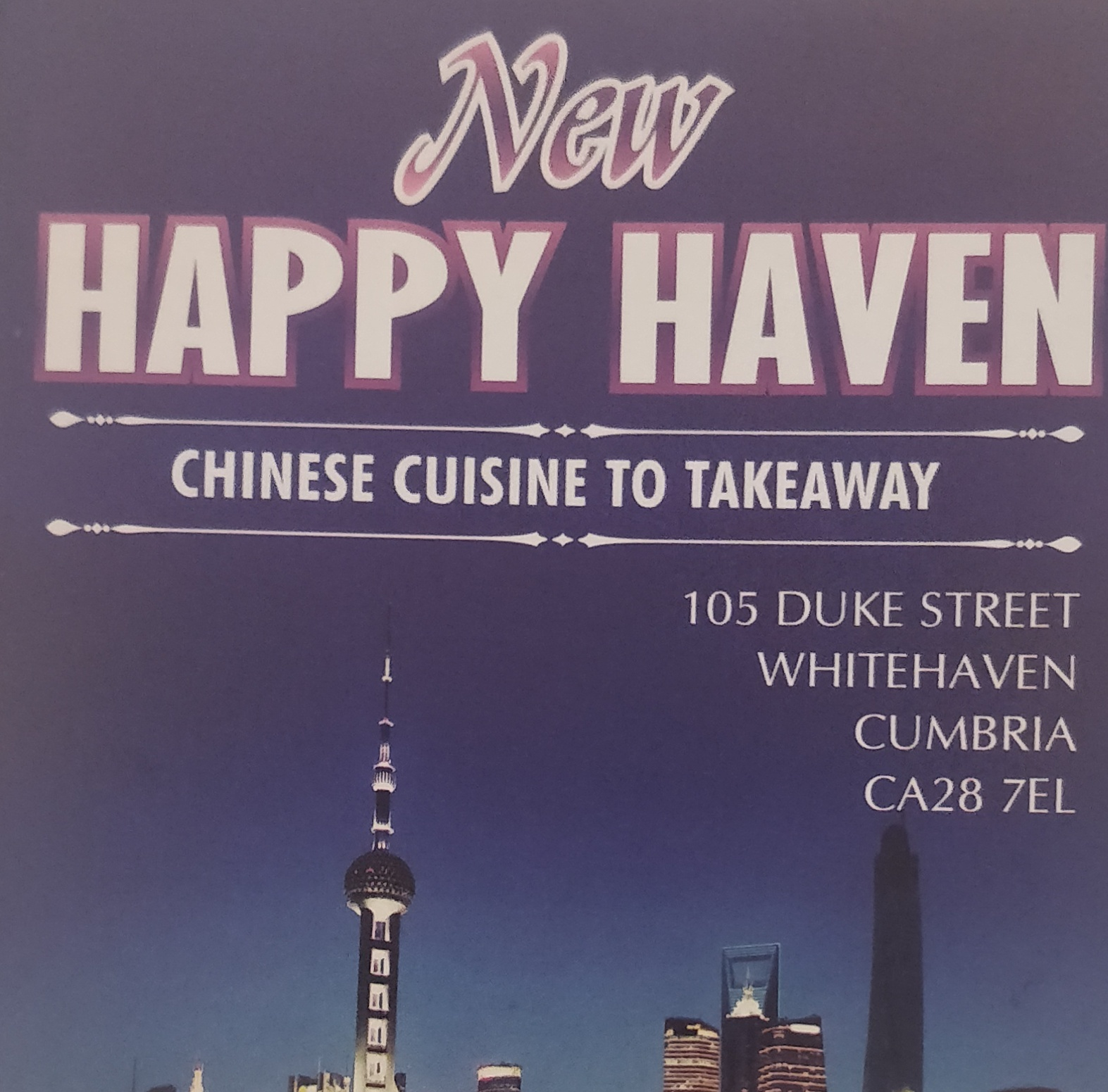 happy haven peking & chinese takeaway online menu